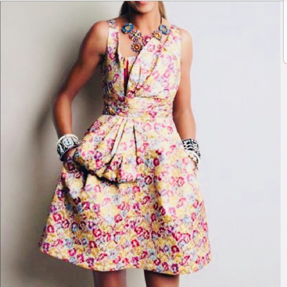 e5138d885 Zac Posen for Target Dresses | Zac Posen Floral Brocade Cocktail ...